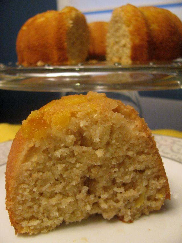 Pineapple Coconut Rum Cake | Andrea Hood